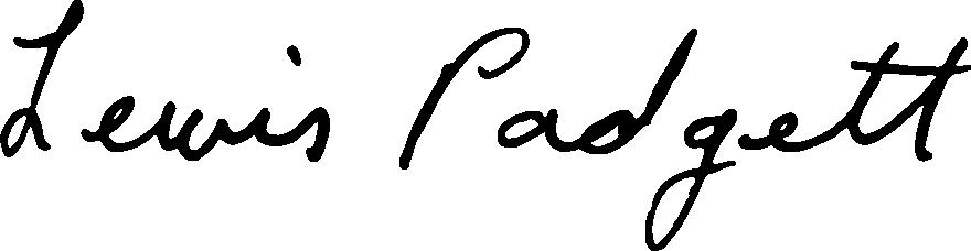 Lewis Padgett Signature Logo